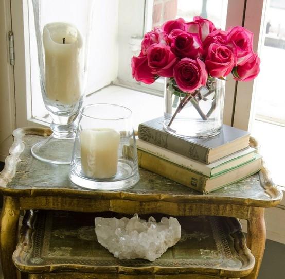 Romantic Homes Decorating: Romantic Home Accents