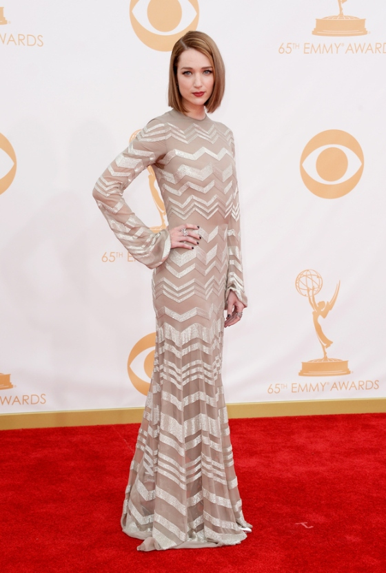 ink inside out-anna castillo-Fashion and Beauty-2013 Emmy Awards Style-September 2013